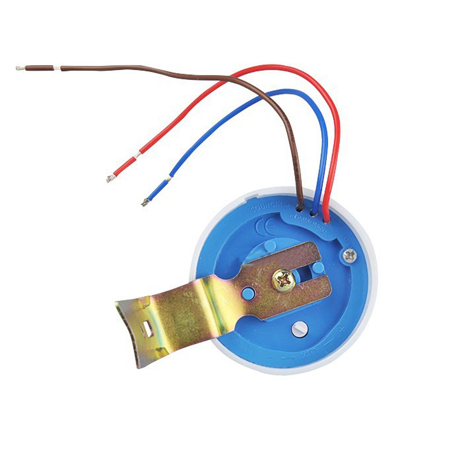 Interruttore Sensore Crepuscolare 6A 220V per Luci Lampade Faro LED Esterno