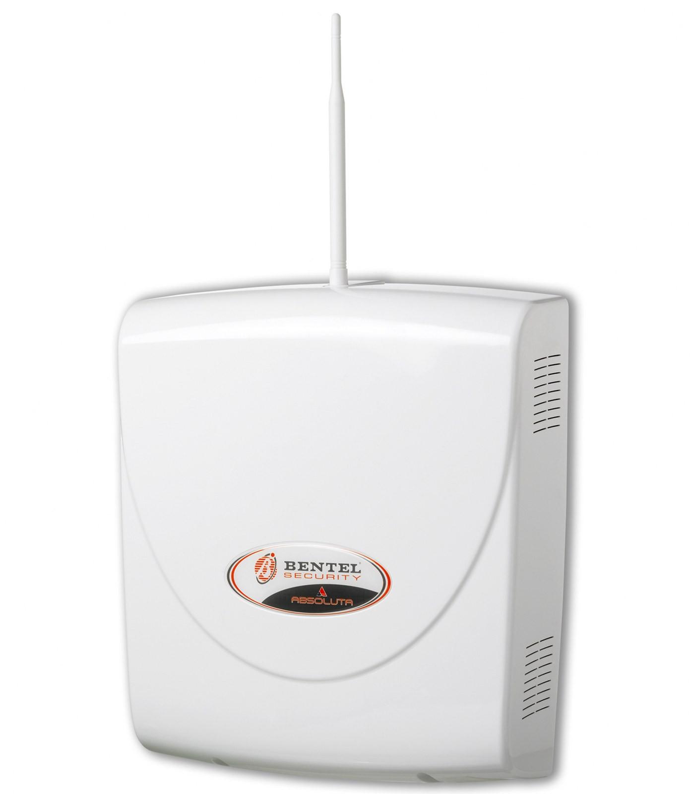 Kit Antifurto Filare 16 Zone Bentel centrale box antenna sirena alimentatore tastiera - Area ...