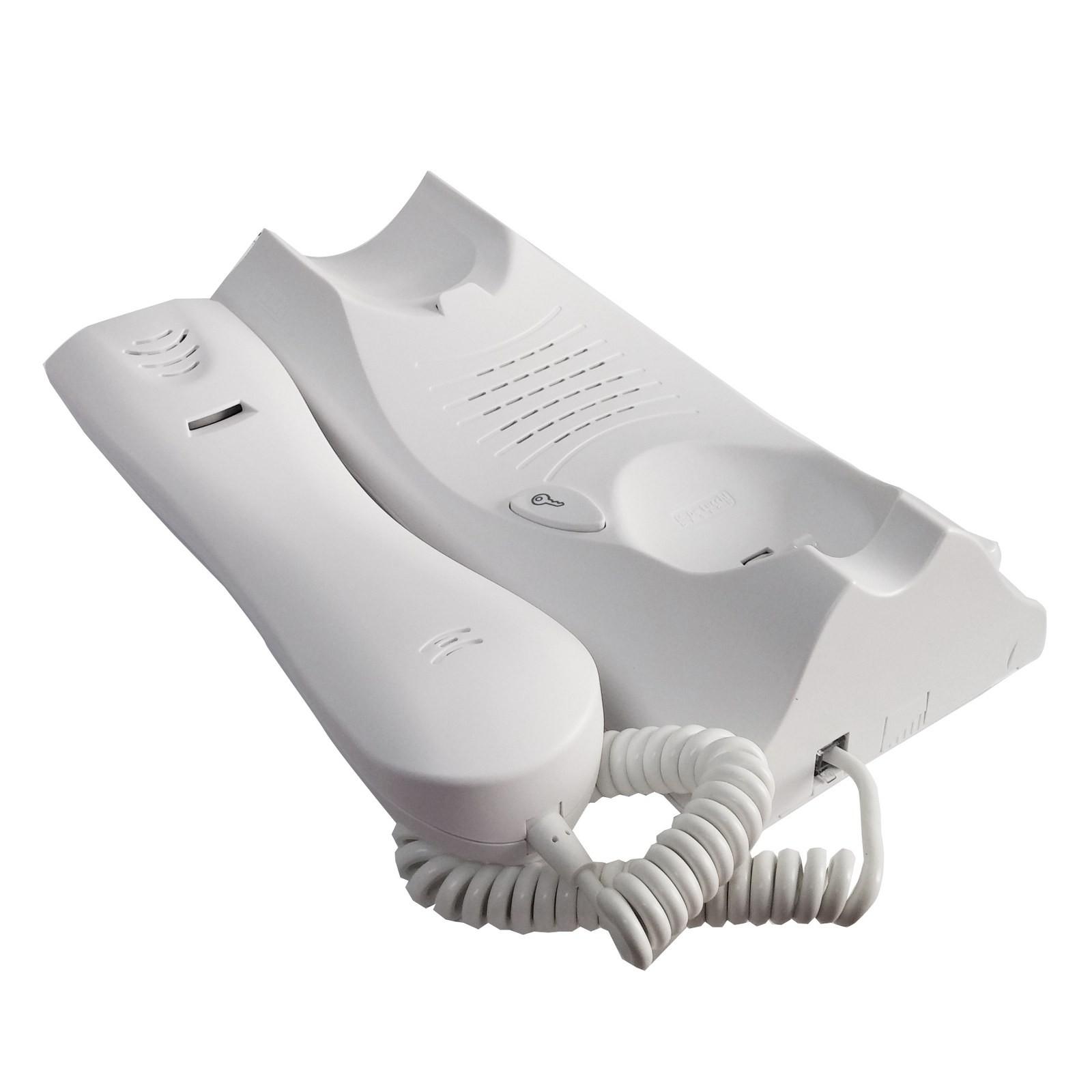 Kit citofono monofamiliare cornetta interno mikra atlantico urmet audio 4 fili area illumina for Citofono elettronico urmet atlantico schema