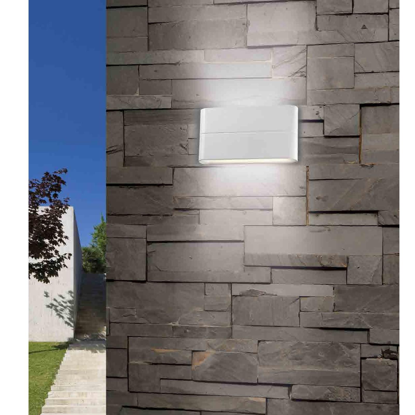 Lampada da esterno plafoniera applique a led parete pan - Plafoniere da esterno moderne ...
