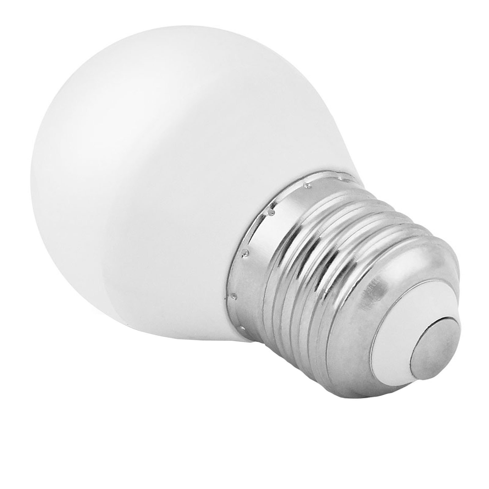 Lampada lampadina led e27 5 5 w watt mini sfera luce for Lampadine led grandi