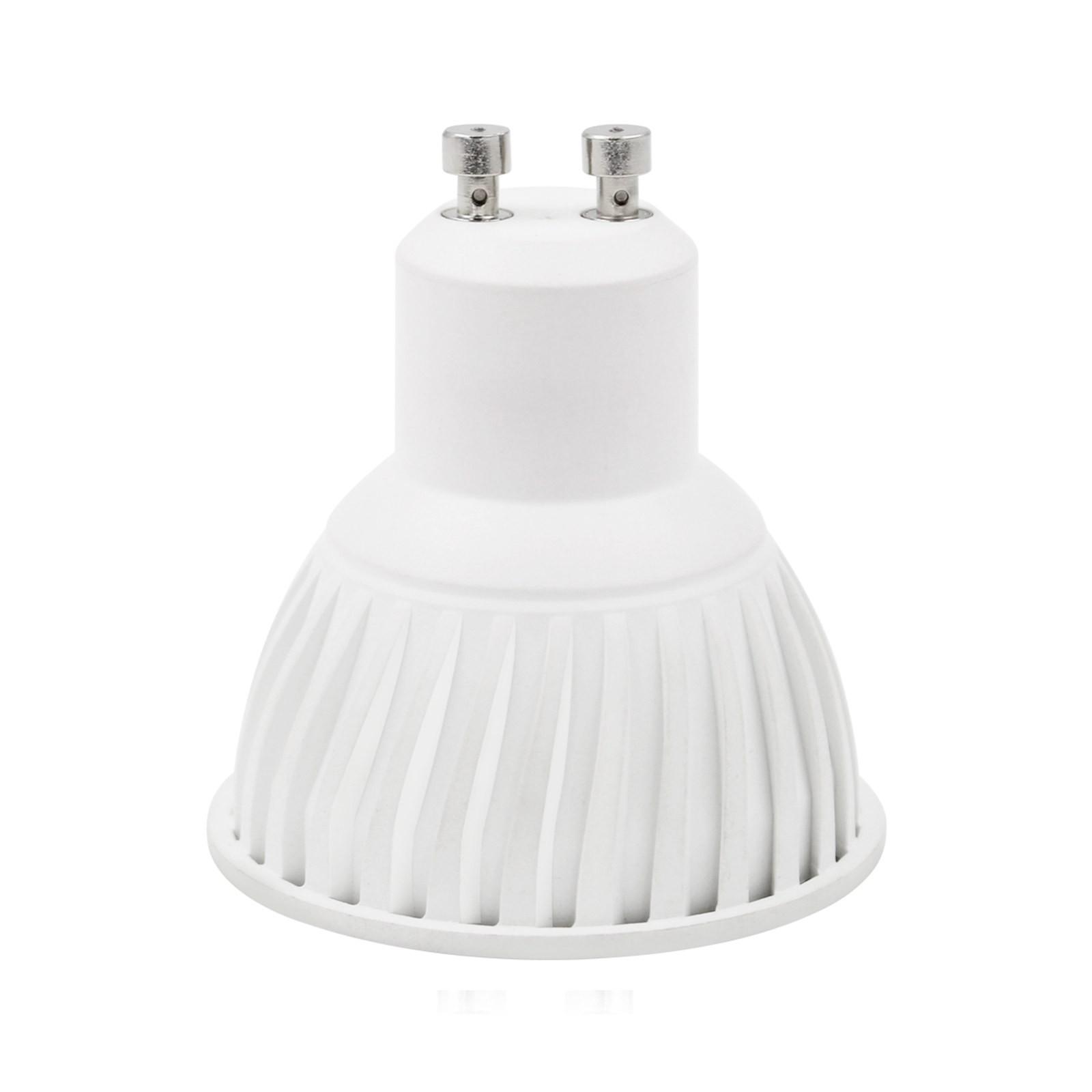 Lampada led lampadina gu10 luce bianca naturale par16 life for Luce bianca led