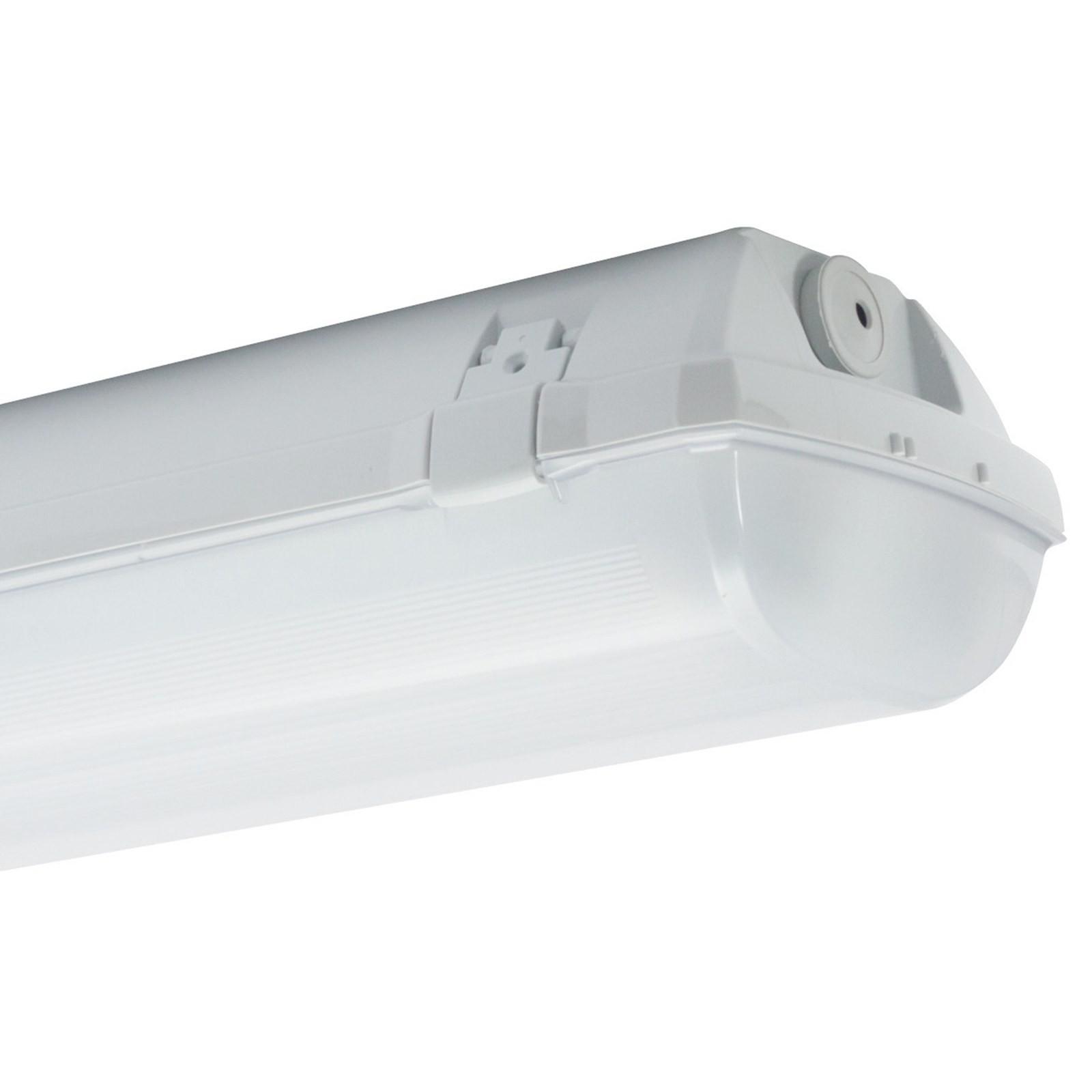 Plafoniera Doppio Neon 150 cm LED Stagna Impermeabile Esterno Tubo T8 Lampada Vultech Life AMC ...
