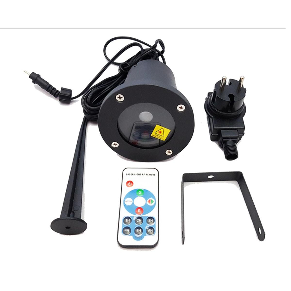 Proiettore Luci Laser Natale.Proiettore Luci Di Natale Natalizie Da Esterno Con Telecomando