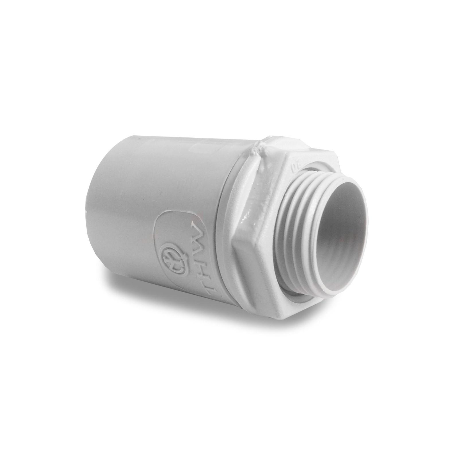 Raccordo tubo rigido scatola in pvc ip67 per impianti - Tubo pvc rigido ...