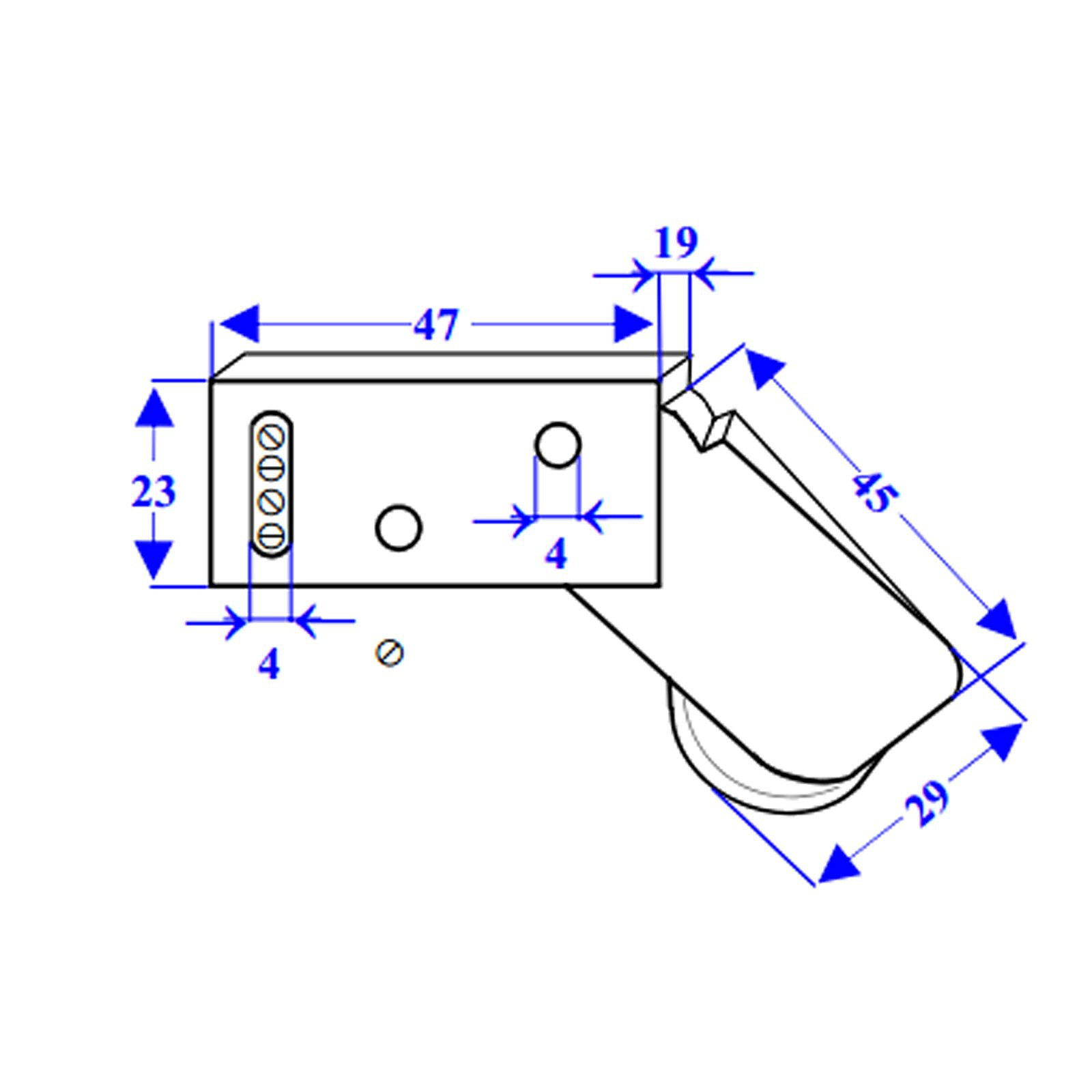 Sensore antifurto tapparelle tapparella rotello per finestre contatto allarme area illumina - Tapparelle per finestre ...