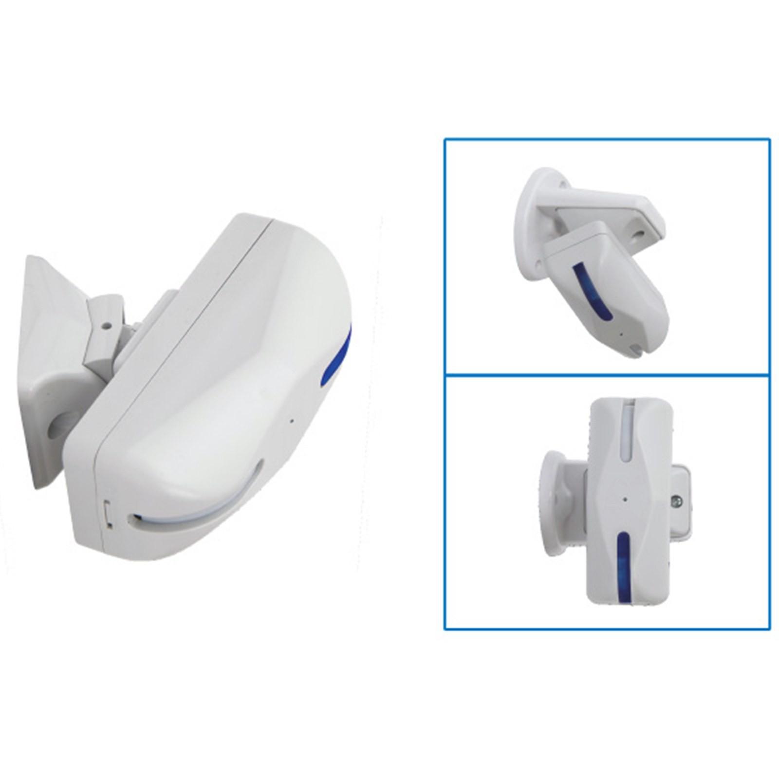 Sensore a Tenda Finestre per Allarme Antifurto Porte AQUARIUS Doppia Tecnologia Vultech Life AMC ...