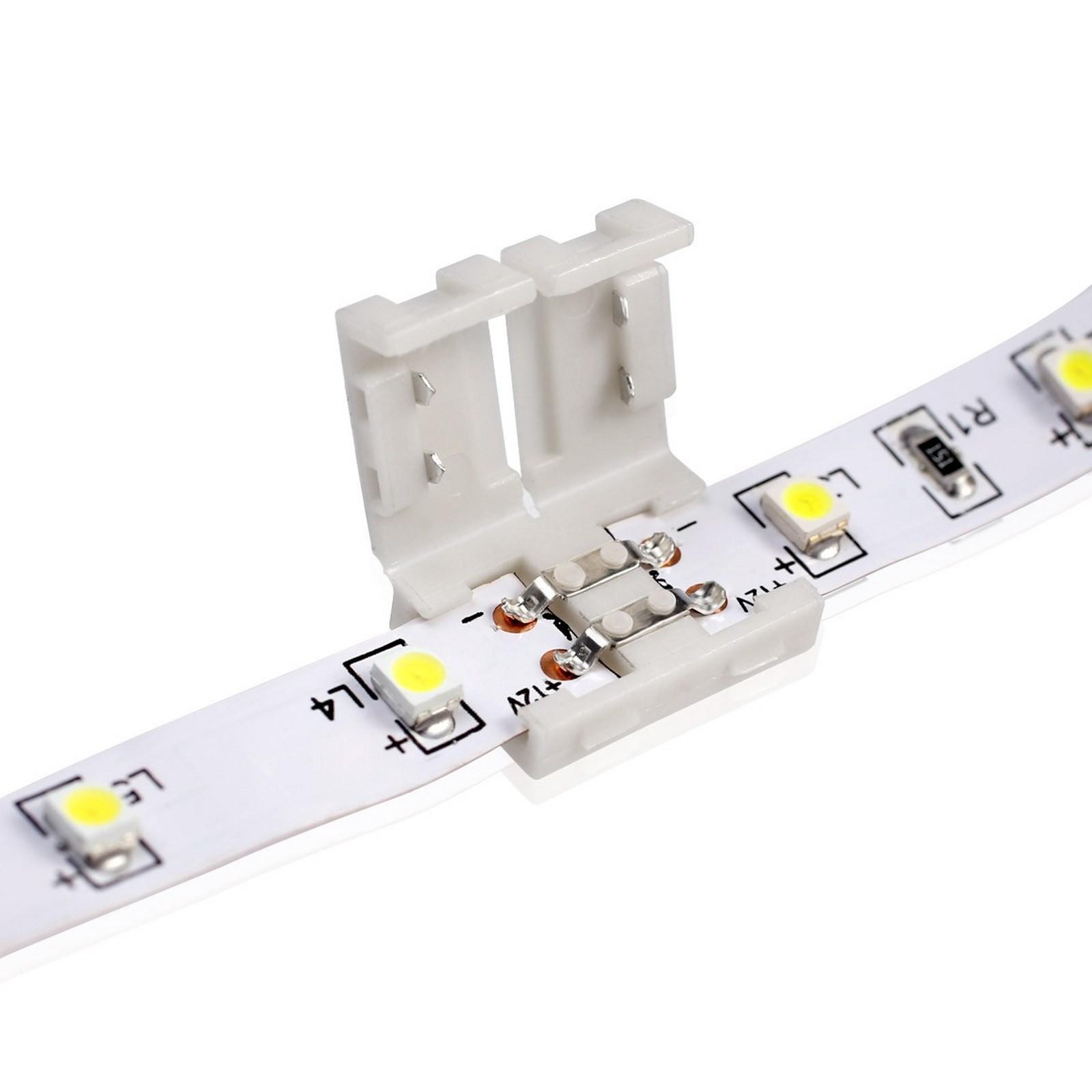 Giunto connettore strisce striscia strip led 3528 life pcb for Led a strisce