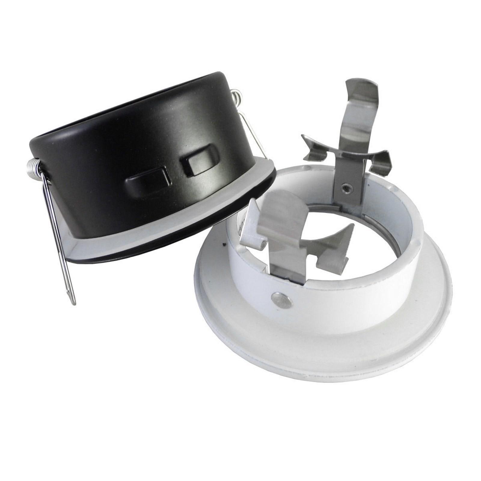 Supporto porta faretto da incasso lampadine led mr16 par16 for Led lampade