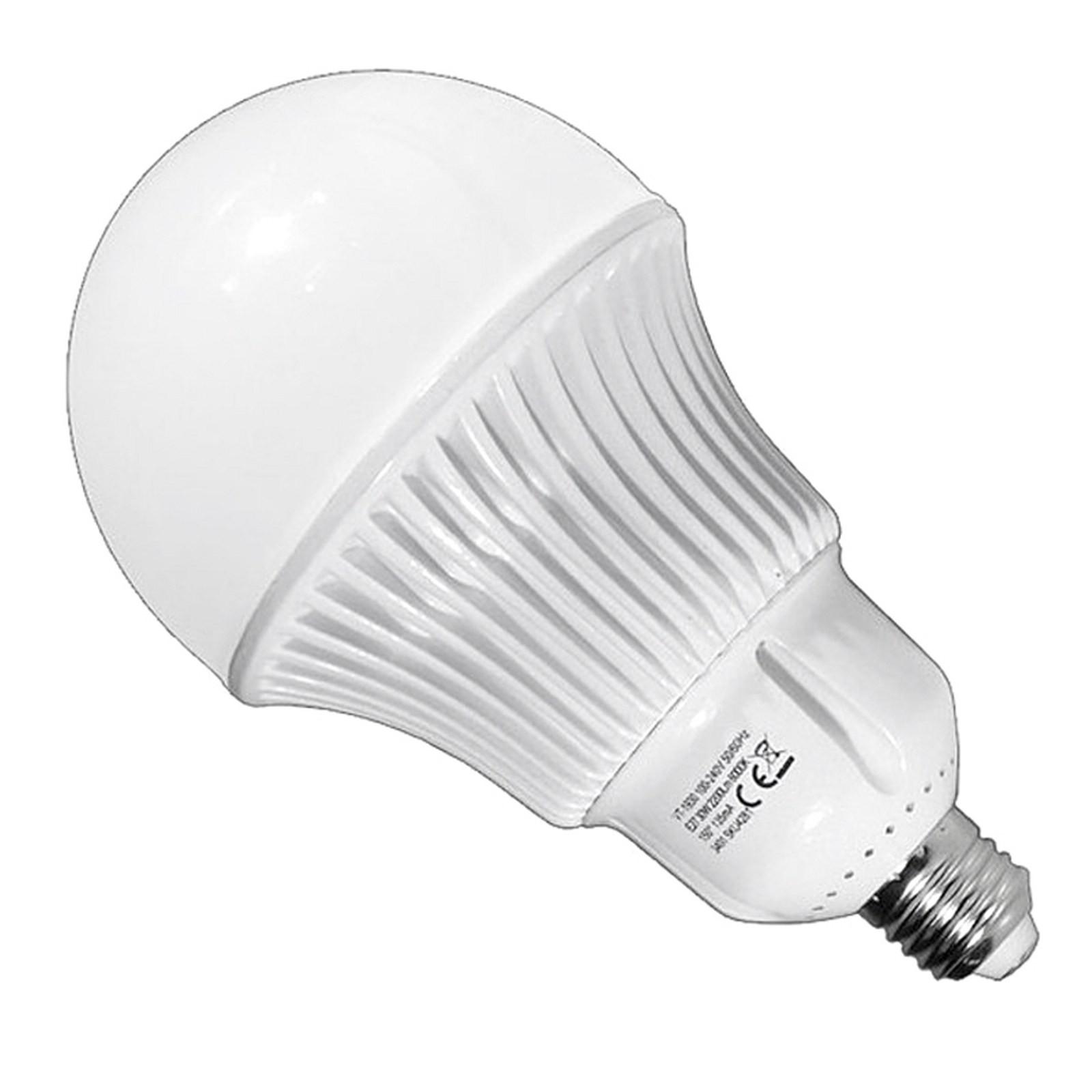 Lampadina lampada led bulb v tac e27 a120 30 watt luce for Offerte lampadine a led e 27